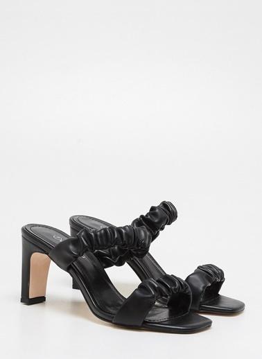 F By Fabrika F By Fabrika Sarah Çok Renkli Kadın Topuklu Ayakkabı Siyah